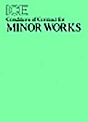 Ice Conditions of Contract for Minor Works (Paperback)