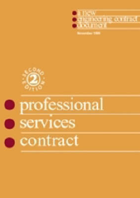 The New Engineering Contract: The Professional Services Contract (Paperback)