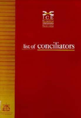The ICE Conciliation Procedure 1999 1999 (Paperback)
