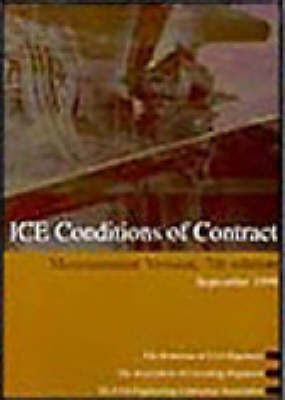 ICE Conditions of Contract: Measurement Version (Paperback)