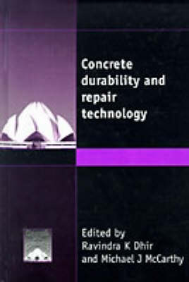 Concrete Durability and Repair Technology (Hardback)