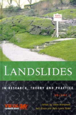 Landslides in Research, Theory and Practice (Hardback)
