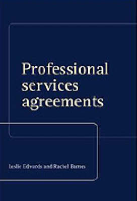 Professional Services Agreements (Hardback)