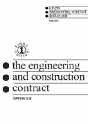 The NEC Partnering Option X12: NEC (Paperback)