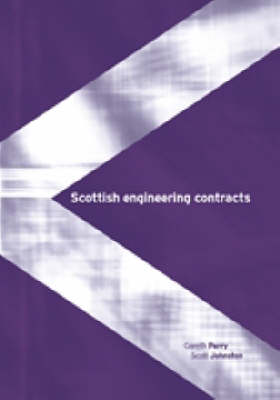 Scottish Engineering Contracts (Paperback)