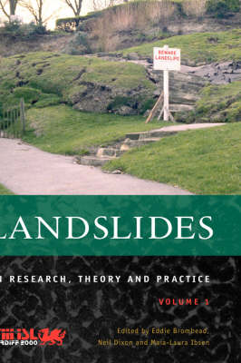 Landslides in Research, Theory and Practice, Volume 1 (Hardback)