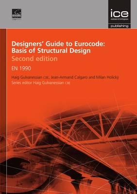 Designers' Guide to Eurocode: Basis of Structural Design Second edition: EN 1990 - Designers' Guide to Eurocodes 17 (Hardback)