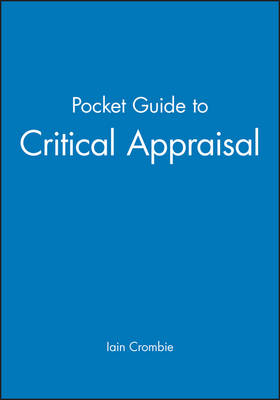 Pocket Guide to Critical Appraisal (Paperback)