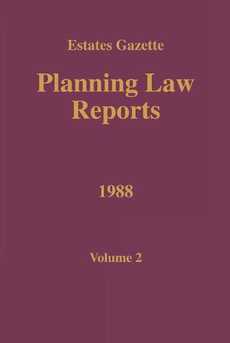 PLR 1988: Vol 2 (Paperback)