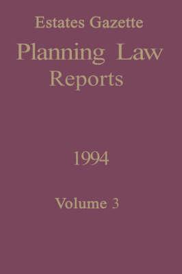 PLR 1994: v. 3 (Paperback)