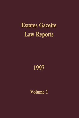EGLR 1997: v. 1 - Estates Gazette Law Reports (Hardback)