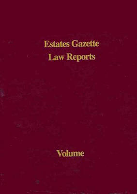 EGLR 2008 - Estates Gazette Law Reports (Hardback)