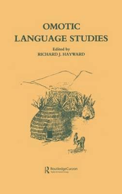 Omotic Language Studies (Hardback)