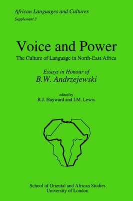 Voice and Power (Paperback)