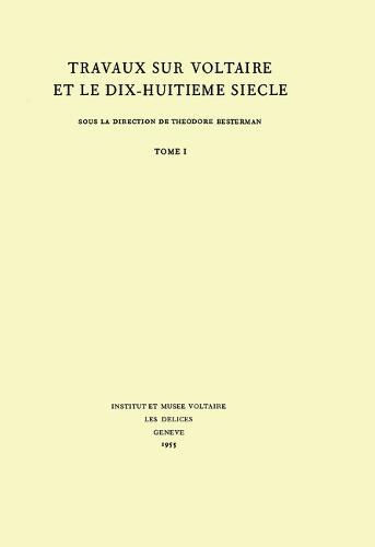 Miscellany/Melanges 1965 - Oxford University Studies in the Enlightenment 32 (Hardback)