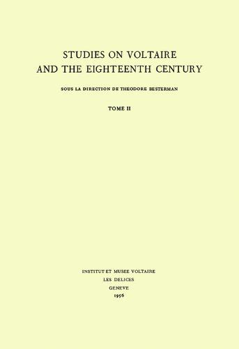 Miscellany/Melanges 1965 - Oxford University Studies in the Enlightenment 32 (Hardback)