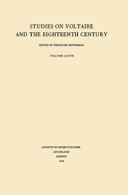 Miscellany/Melanges 1969 - Oxford University Studies in the Enlightenment 68 (Paperback)