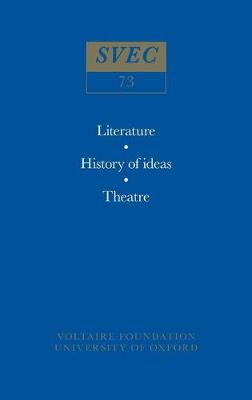 Voltaire Collectaneous 1970 - Studies on Voltaire v. 73 (Paperback)