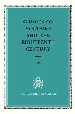 Miscellany / Melanges 1980 - Oxford University Studies in the Enlightenment 183 (Hardback)