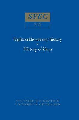Miscellany / Melanges 1986 - Oxford University Studies in the Enlightenment 242 (Hardback)