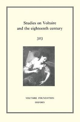 Miscellany / Melanges 1995 - Oxford University Studies in the Enlightenment 327 (Hardback)
