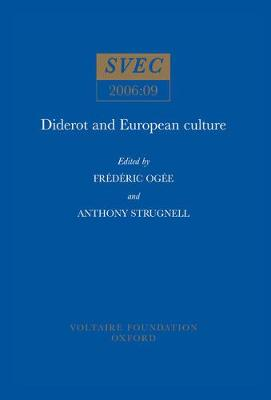 Diderot and European Culture (Paperback)