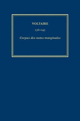 Corpus Des Notes Marginales CN7 Plautus-Rogers - Oeuvres Completes de Voltaire v. 142 (Hardback)