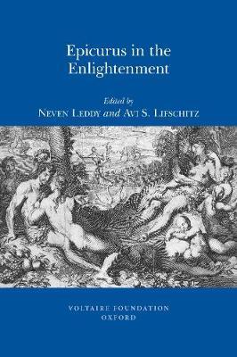 Epicurus in the Enlightenment - Studies on Voltaire & the Eighteenth Century No. 1 (Paperback)