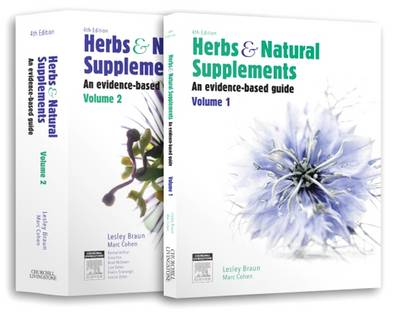Herbs and Natural Supplements, 2-Volume set: An Evidence-Based Guide (Paperback)