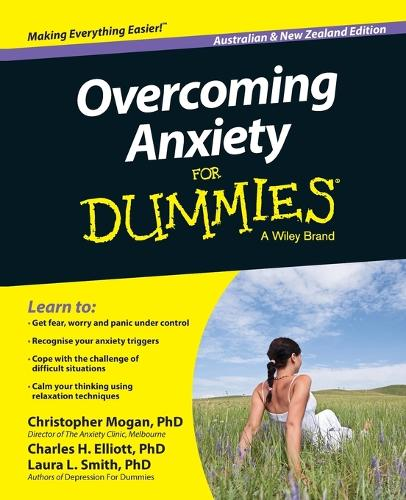 Overcoming Anxiety For Dummies - Australia / NZ (Paperback)
