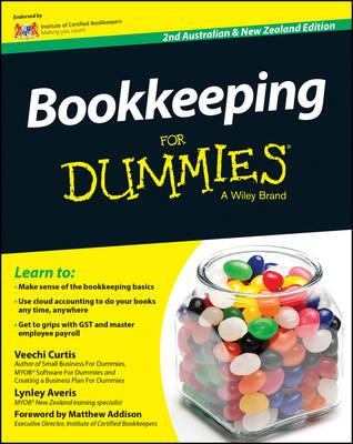 Bookkeeping For Dummies - Australia / NZ (Paperback)
