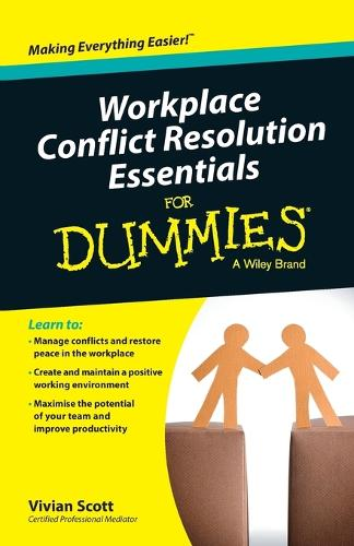 Workplace Conflict Resolution Essentials For Dummies (Paperback)