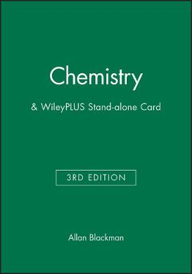 Chemistry 3e & WileyPLUS Stand-alone Card (Paperback)