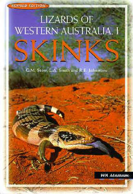 Lizards of Western Australia 1: Skinks (Paperback)