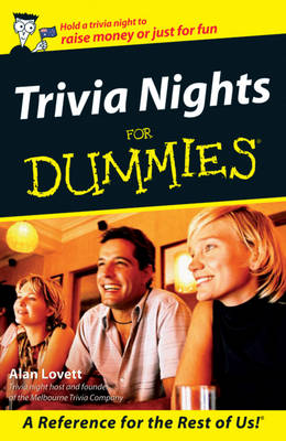 Trivia Nights For Dummies (Paperback)