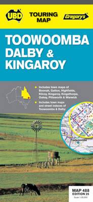 Toowoomba / Dalby / Kingaroy 488: UBD.QLD.488 (Sheet map, folded)