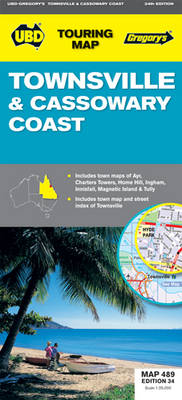 Townsville and Cassowary Coast 489: UBD.QLD.489 (Sheet map, folded)