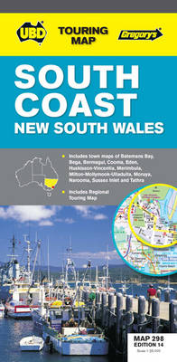 South Coast NSW Map 298