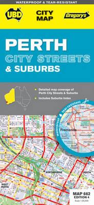 Perth City Streets and Suburbs 662: UBD.WA.662 (Sheet map, folded)
