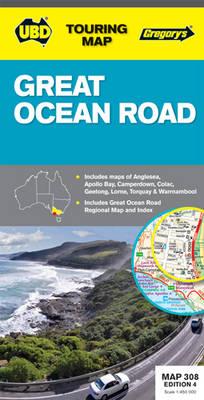 Great Ocean Road 308: UBD.VIC.308 (Sheet map, folded)