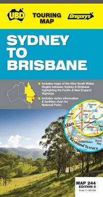 Sydney to Brisbane 244: UBD.NSW.244