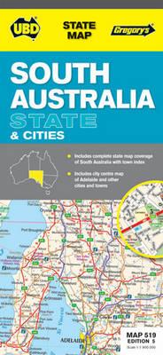 South Australia - State and Sities 519: UBD.SA.519 (Sheet map, folded)