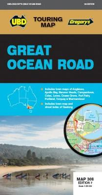Great Ocean Road Map 308 7th ed - Touring Map (Sheet map, folded)