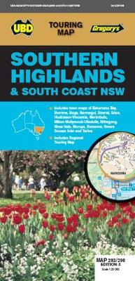 Southern Highlands & South Coast NSW Map 283/298 3rd ed - Touring Map (Sheet map, folded)