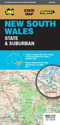 NSW State & Suburban Map 270 28th ed - State Map (Sheet map, folded)