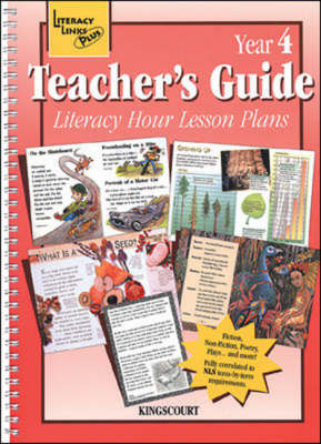 Literacy Hour Lesson Plans Year 4 Teachers' Guide - Literacy Links Plus (Paperback)