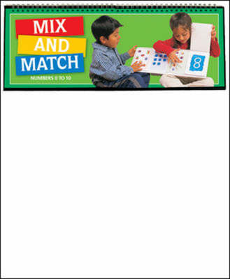 Mix and Match Numbers 1-10 - Maths Links Plus (Paperback)