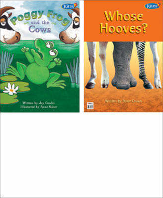 Poggy Frog and the Cows/whose Hooves? 2 in 1 Big Book (Paperback)