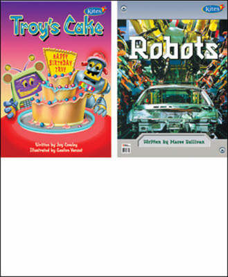 Troy's Cake/Robots 2 in 1 Big Book (Paperback)