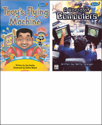 Troy's Flying Machine/A World of Computers 2 in 1 Big Book (Paperback)